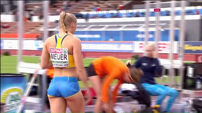 Michaela Maijer - Euro Athletics Champs 2016 in Amsterdam
