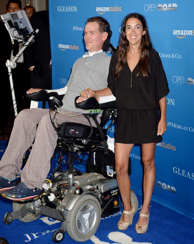 Michel Varisco-Gleason - 'Gleason' Premiere in Los Angeles