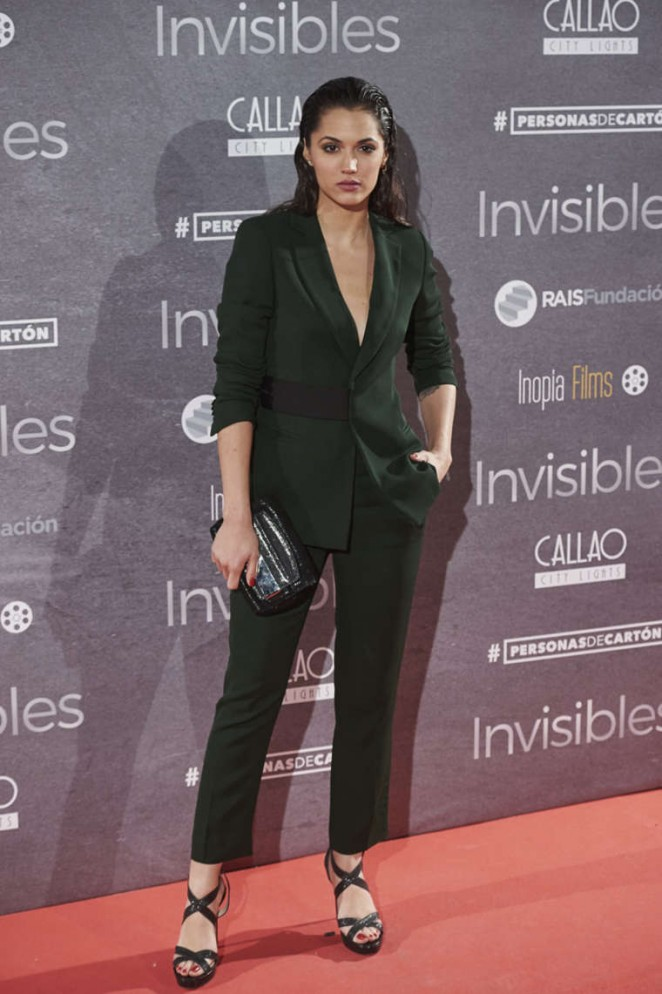 Michelle Calvo - 'Invisibles' Charity Premiere in Madrid