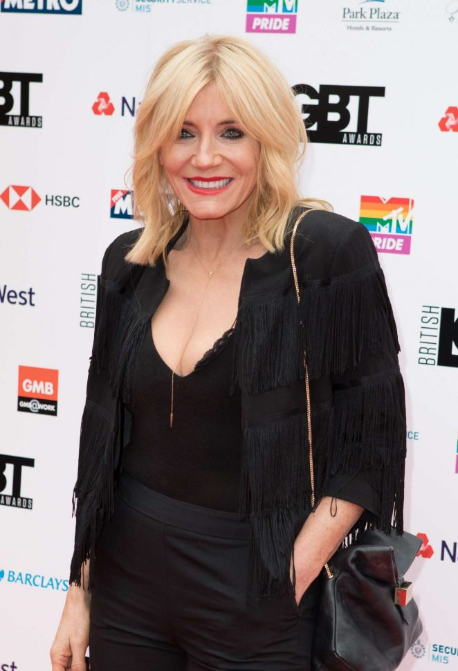 Michelle Collins – 2018 LGBT Awards in London