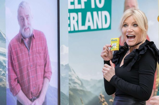 Michelle Collins at Ricola Sweets Launch -02