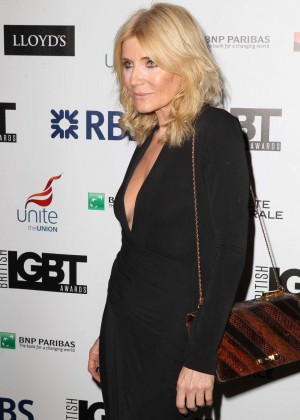 Michelle Collins - LGBT Awards 2015 in London