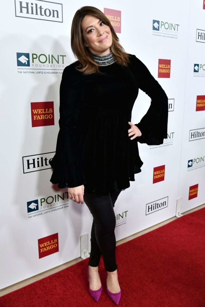 Michelle Collins - Point Honors Gala Photocall in Los Angeles