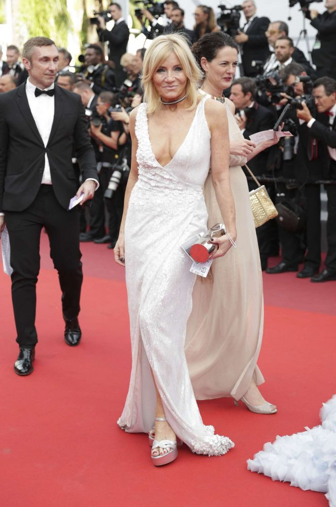 Michelle Collins - 'The Killing of a Sacred Deer' Premiere at 70th Cannes Film Festival