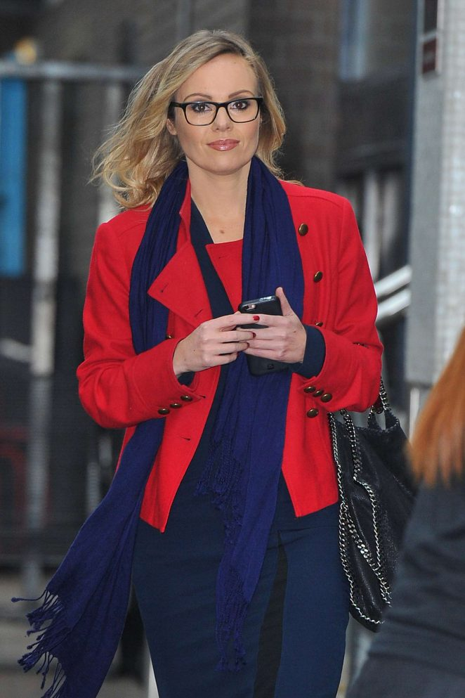 Michelle Dewberry at the ITV Studios in London