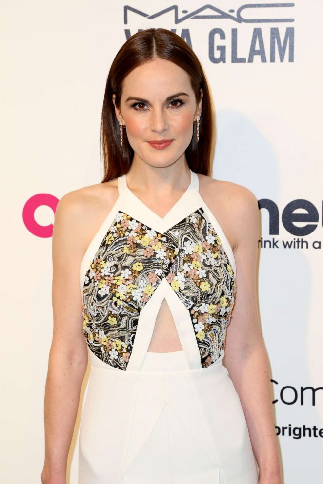 Michelle Dockery - 2017 Elton John AIDS Foundation's Oscar Viewing Party in West Hollywood