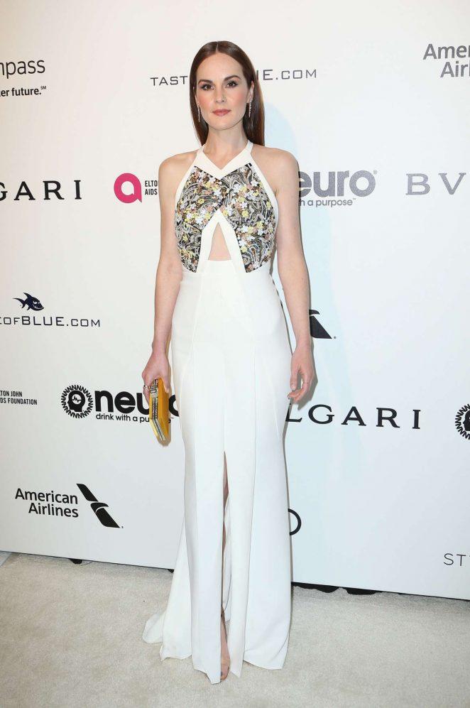 Michelle Dockery: 2017 Elton John AIDS Foundations Oscar Viewing Party -09