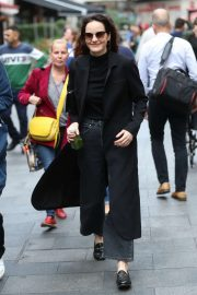 Michelle Dockery - Arrives at the Global Offices in London