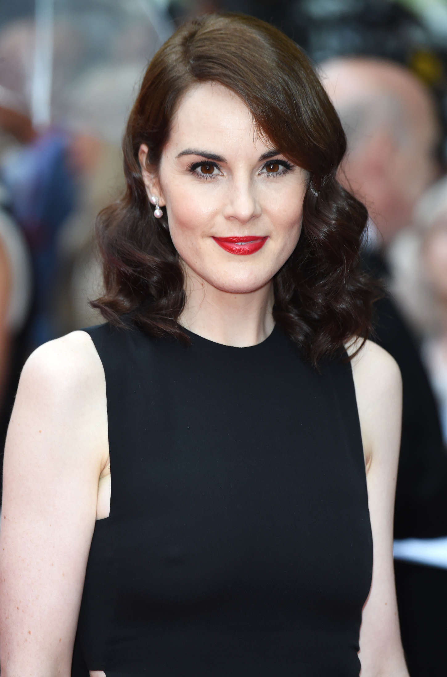 Michelle Dockery Bafta Celebrates Downton Abbey In