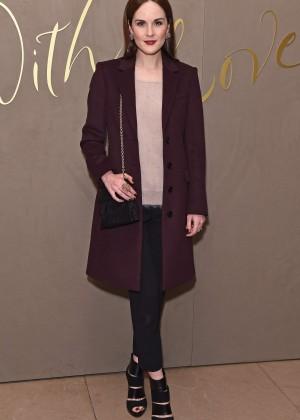 Michelle Dockery - Burberry Festive Film Premiere in London