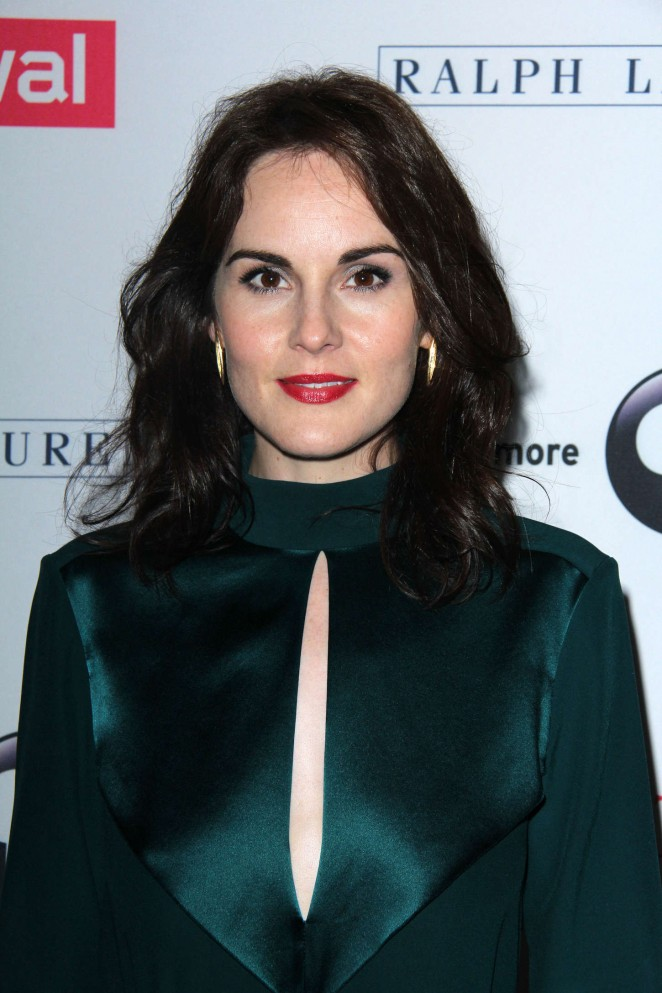 Michelle Dockery - 'Downton Abbey' Photocall in Beverly Hills