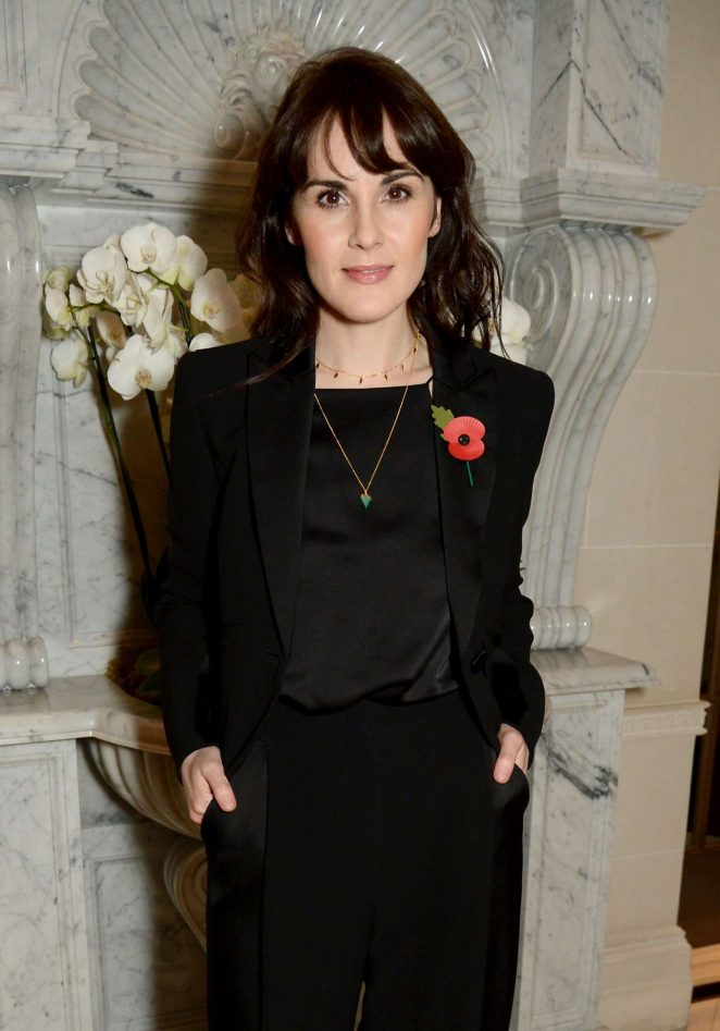 Michelle Dockery - Jenny Packham x Dita Von Teese Dinner in London