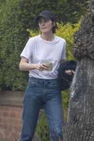 Michelle Dockery - Looks casual in North London