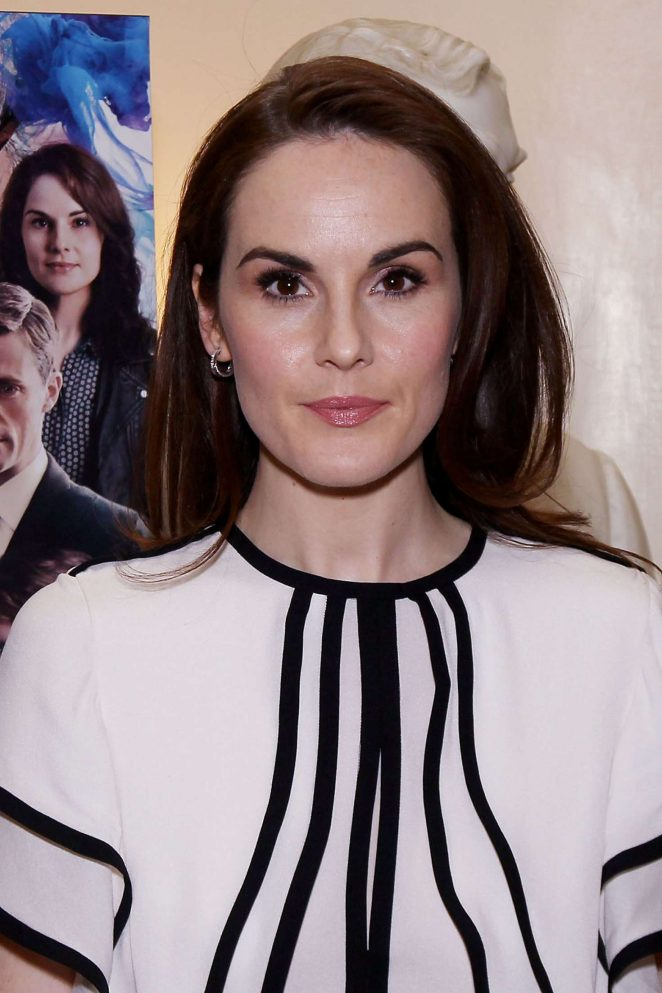 Michelle Dockery - Lunch for CBS Films 'The Sense of An Ending' in NY