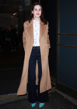 Michelle Dockery visits Downton Abbey Exhibition in New York City