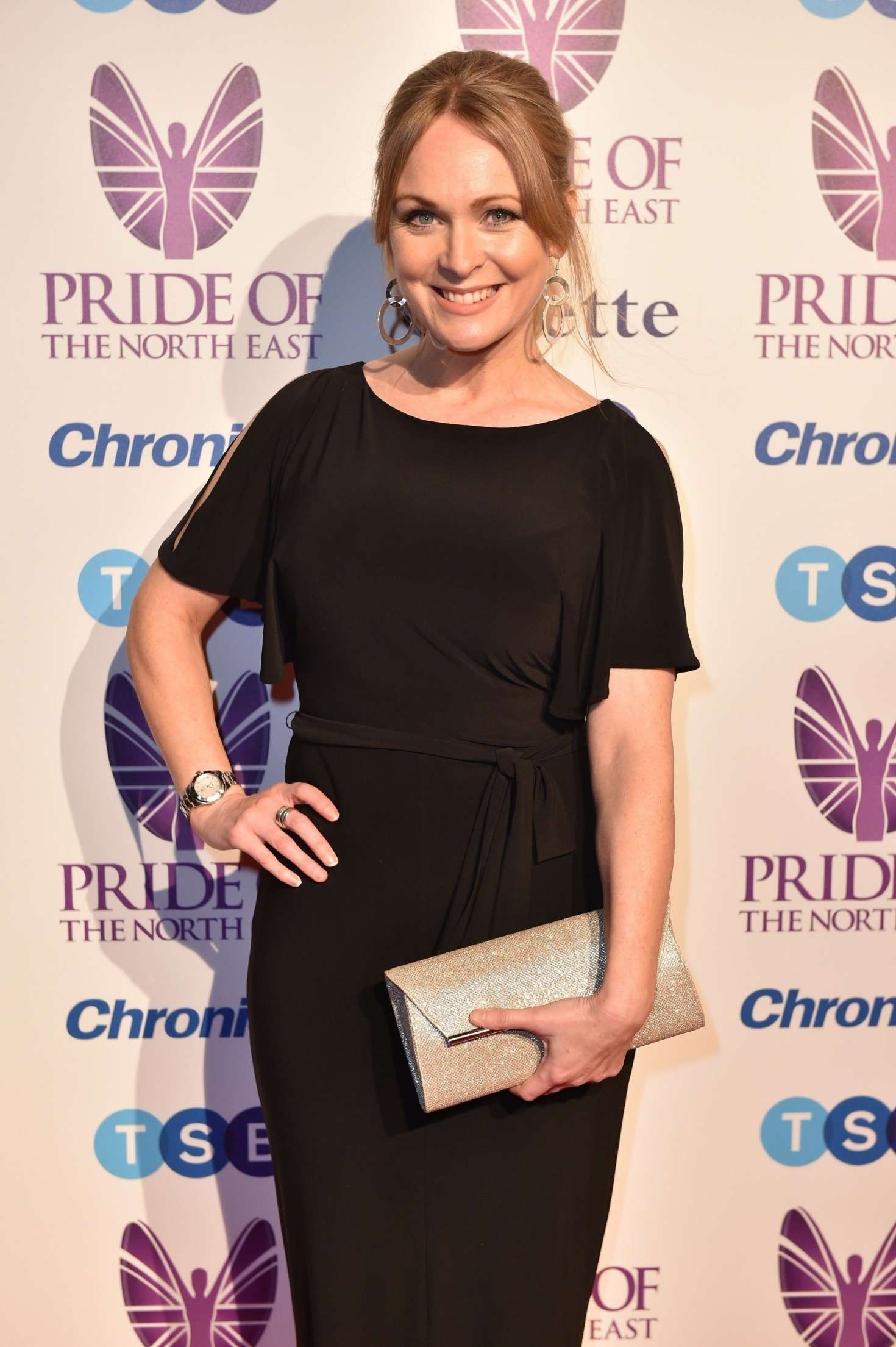 Michelle Hardwick - Pride Of The North East Awards 2018 in Newcastle