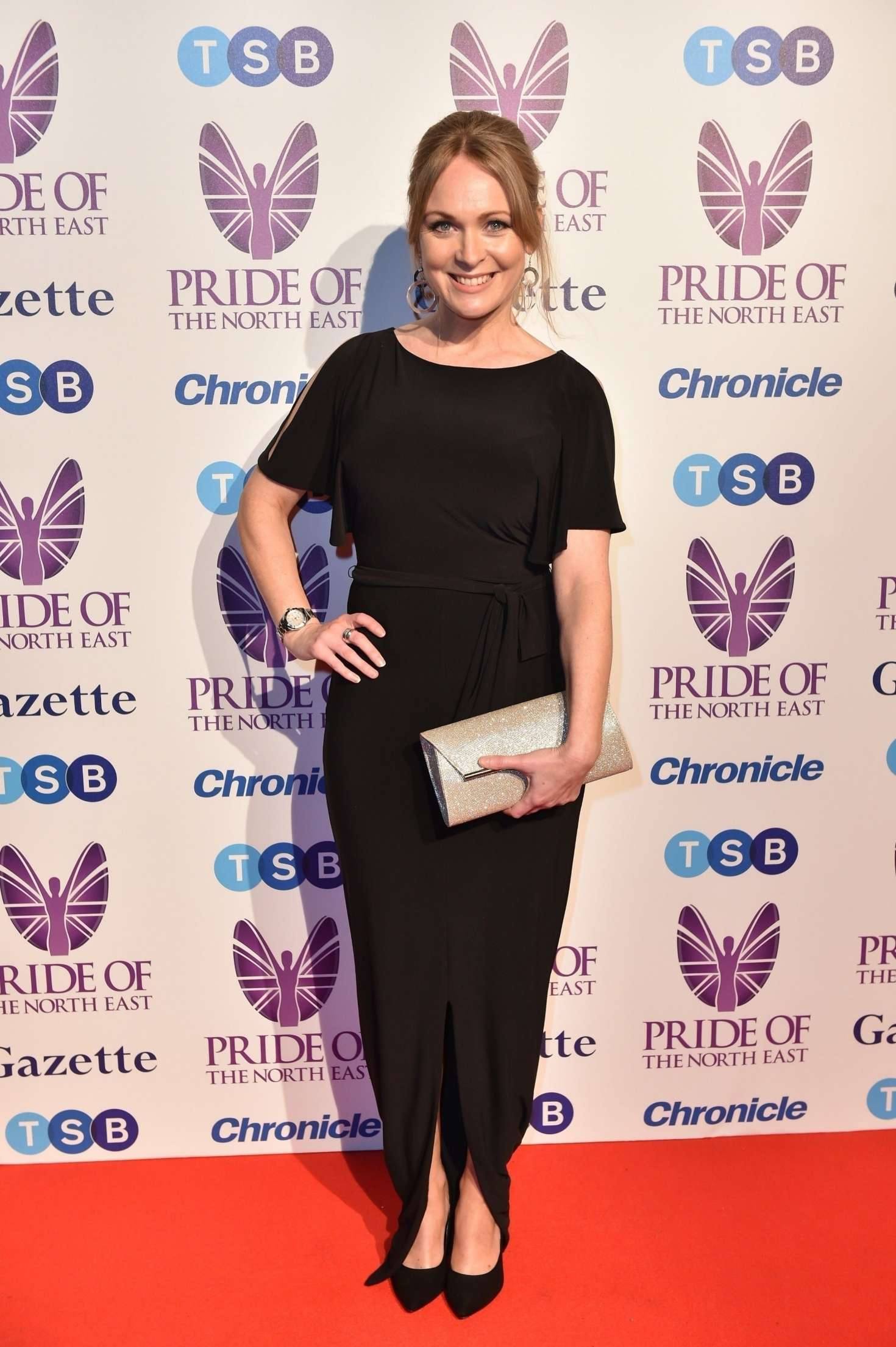 Michelle Hardwick 2018 : Michelle Hardwick: Pride Of The North East Awards 2018 -02