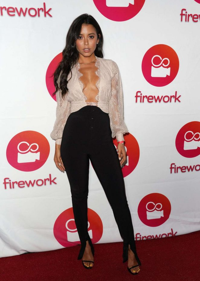 Michelle Hayden - Firework App Launch in Los Angeles