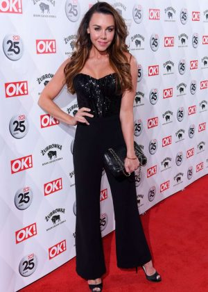 Michelle Heaton -  OK! Magazine's 25th Anniversary Party in London