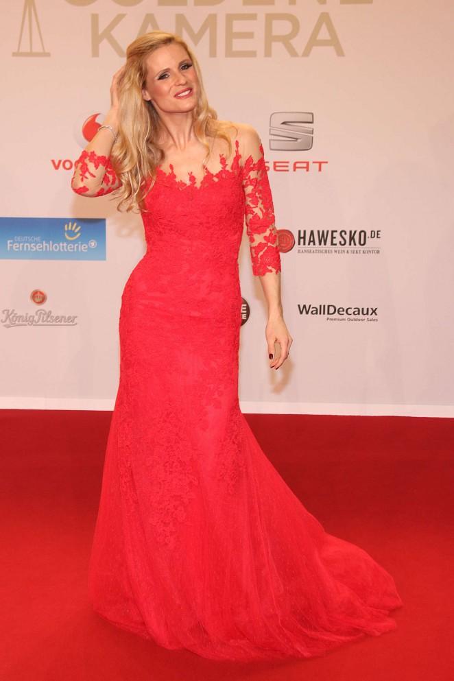 Michelle Hunziker - 51st Annual Goldene Kamera Award in Hamburg