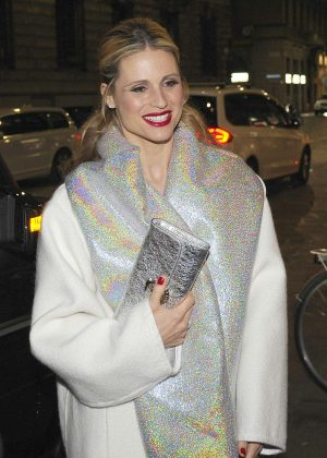 Michelle Hunziker at her Birthday Party in Milan