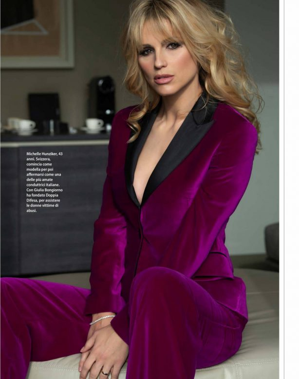 Michelle Hunziker - F Magazine (April 2020)