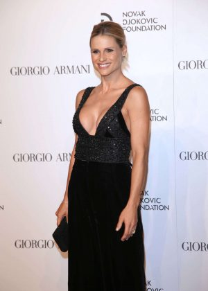 Michelle Hunziker - Gala Dinner Novak Djokovic Foundation in Milan
