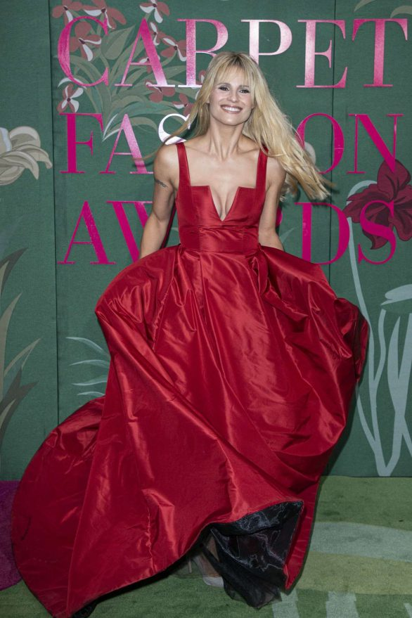 Michelle Hunziker - Green Carpet Fashion Awards 2019 in Milan