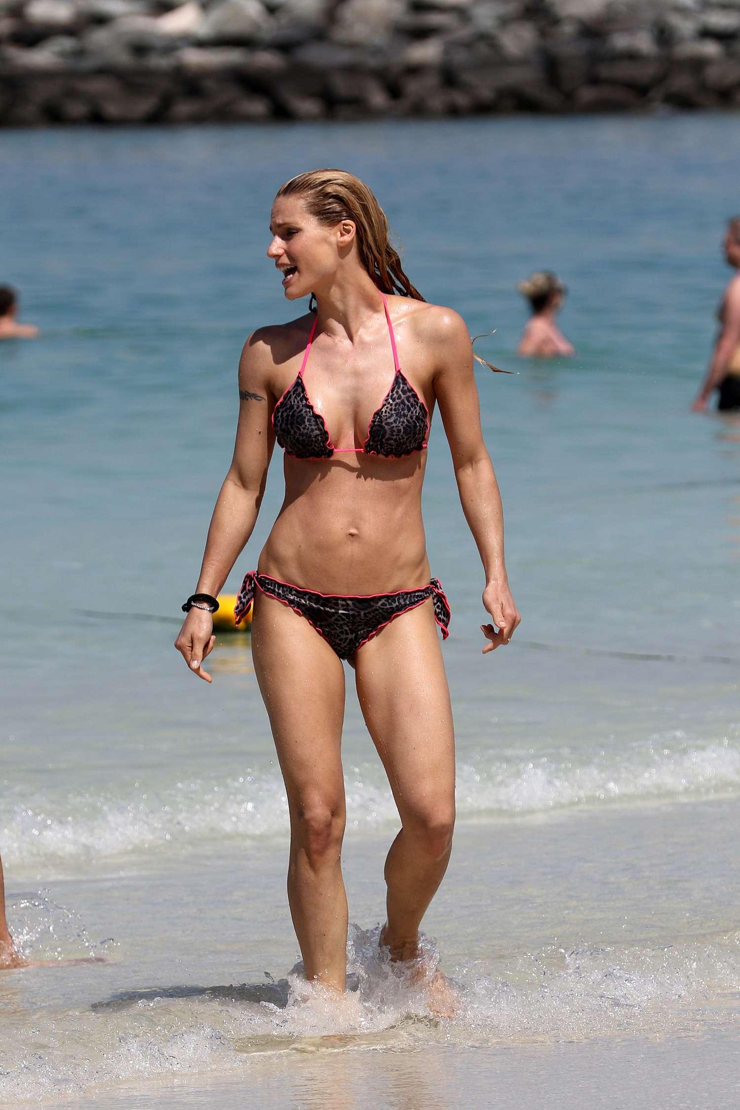 hunziker bikini Michelle