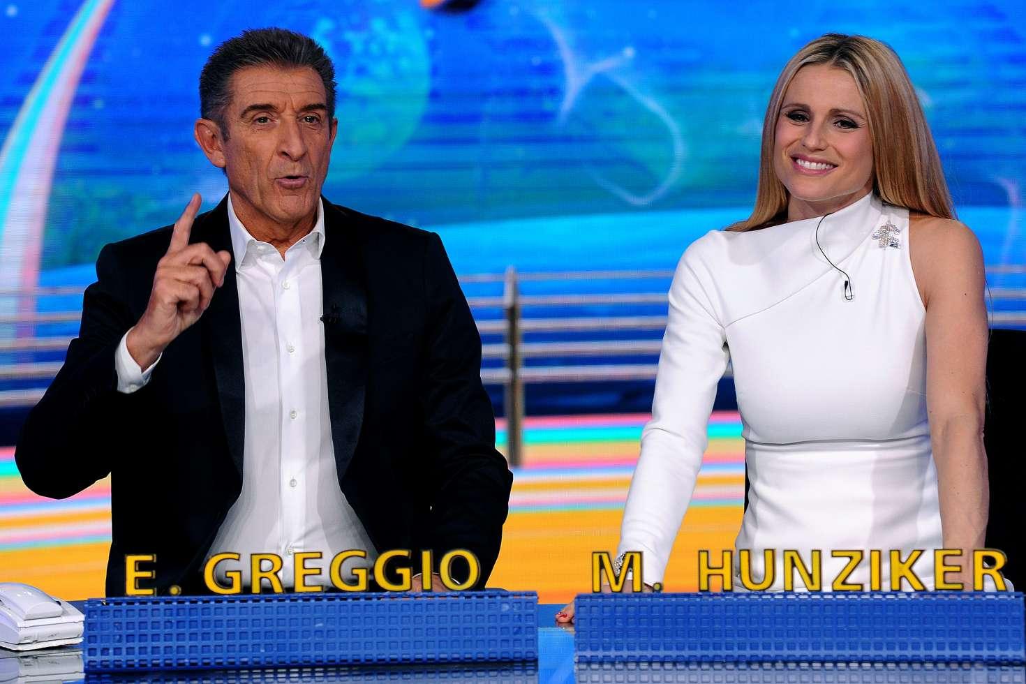 Michelle Hunziker: Italian TV show Striscia la notizia -06 ...