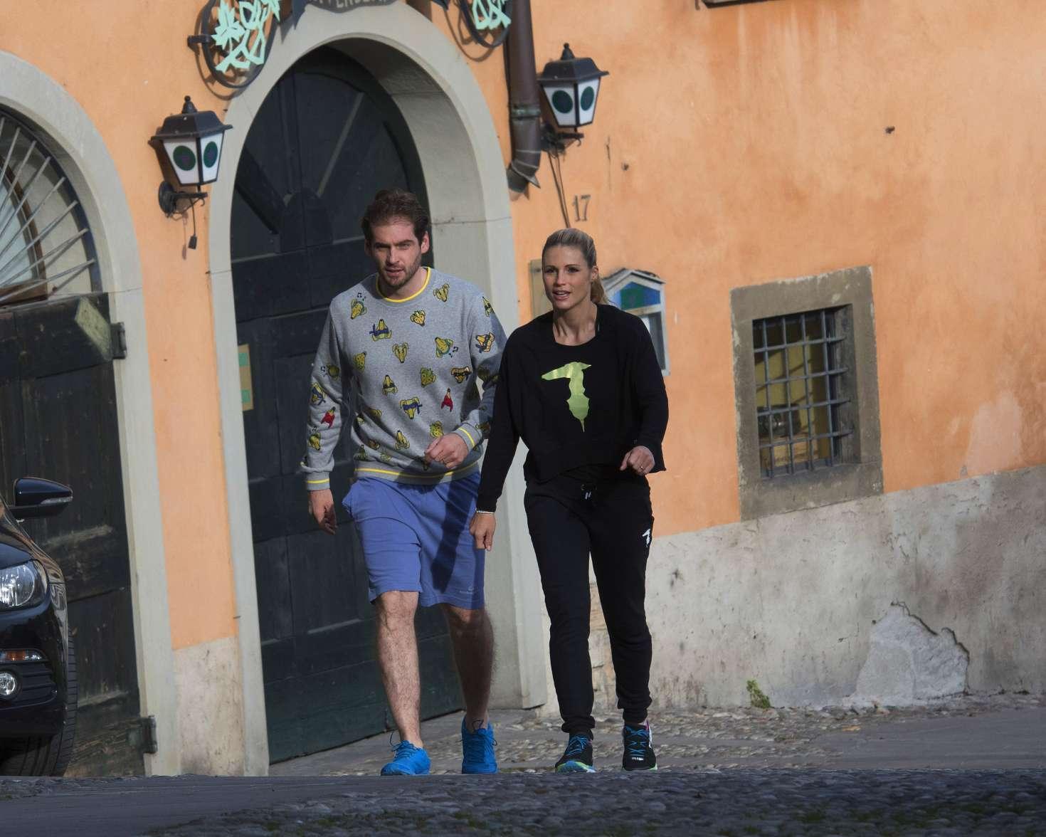 Michelle Hunziker 2017 : Michelle Hunziker out in Bergamo -02