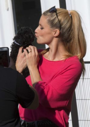 Michelle Hunziker - Out in Bergamo