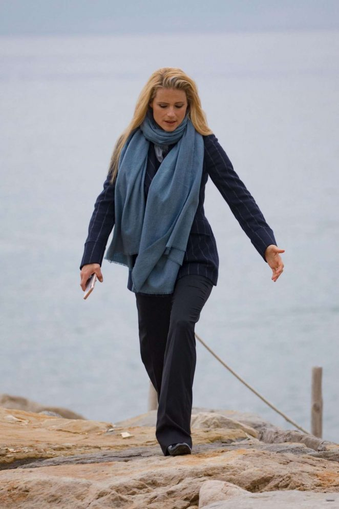Michelle Hunziker - Seen by the Sea in Sanremo