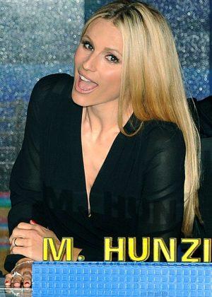 Michelle Hunziker - 'Striscia la notizia' TV Show Pphotocall in Milan