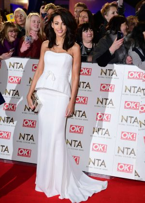 Michelle Keegan - 2017 National Television Awards in London