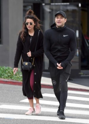 Michelle Keegan and Mark Wright - Out in West Hollywood