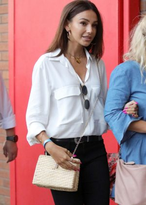 Michelle Keegan - Arrives at Old Trafford in Manchester