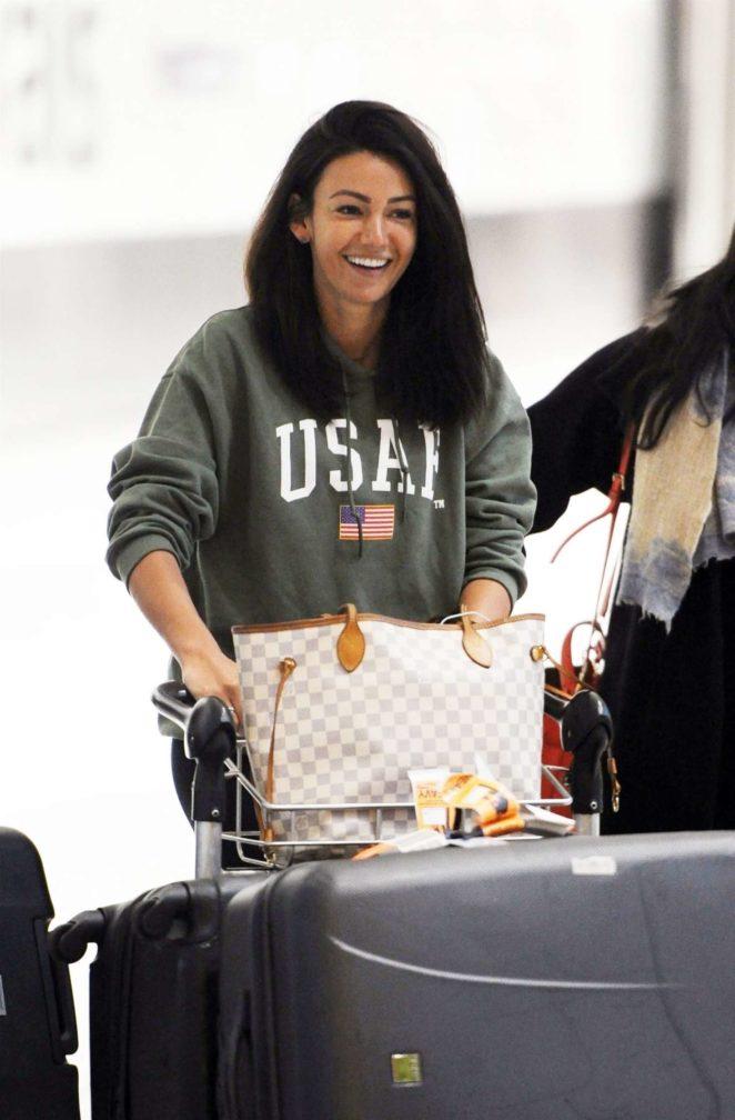 159a643fbb267 Michelle Keegan: Arriving at Heathrow Airport -17 | GotCeleb
