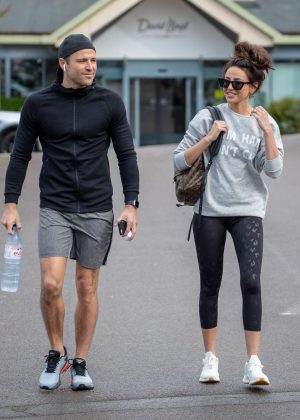 Michelle Keegan - Arriving at the Gym in Essex