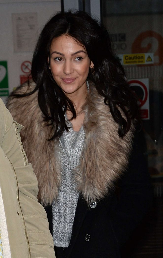 Michelle Keegan at BBC Radio 2 studios in London