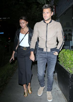 Michelle Keegan at Il Piccolino in West Hollywood