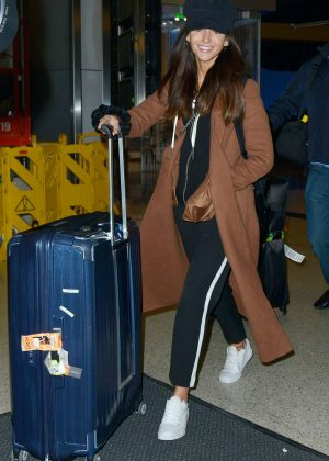 Michelle Keegan at LAX Airport in Los Angeles