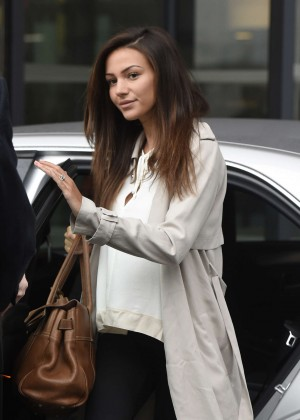 Michelle Keegan at MediaCityUK in Salford