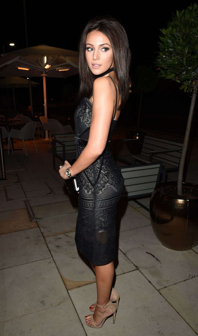 Michelle Keegan at Menagerie Restaurant -02 – GotCeleb