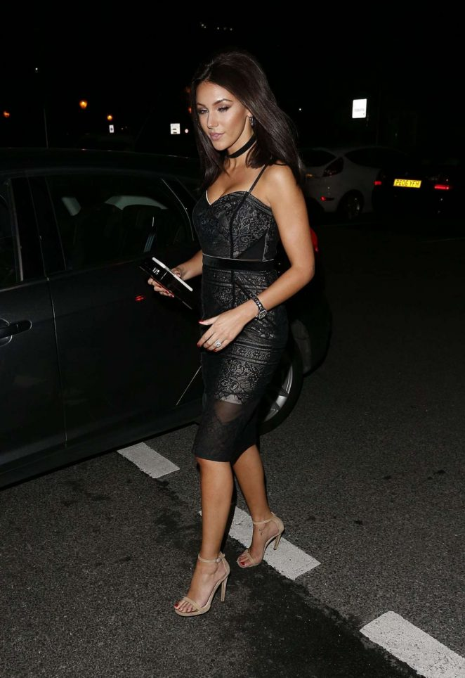 Michelle Keegan at Menagerie Restaurant -16 – GotCeleb