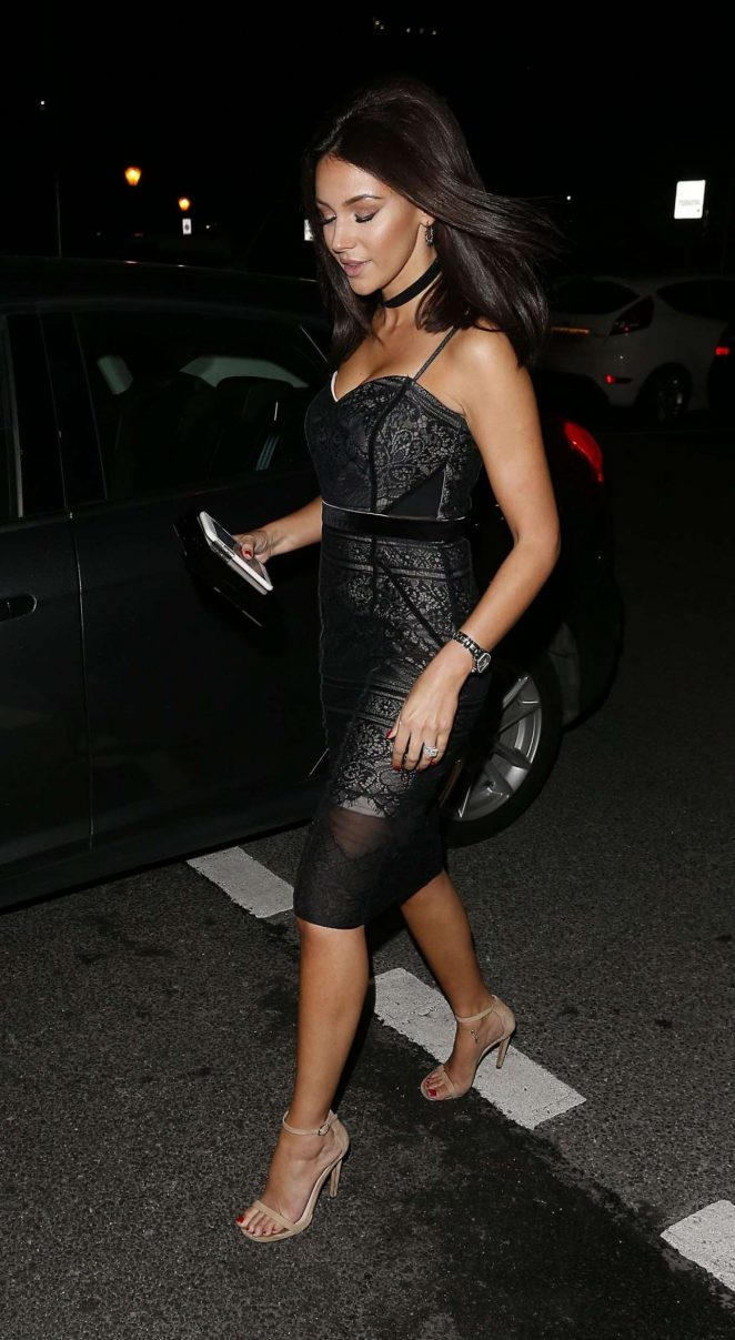 Michelle Keegan at Menagerie Restaurant -22 – GotCeleb
