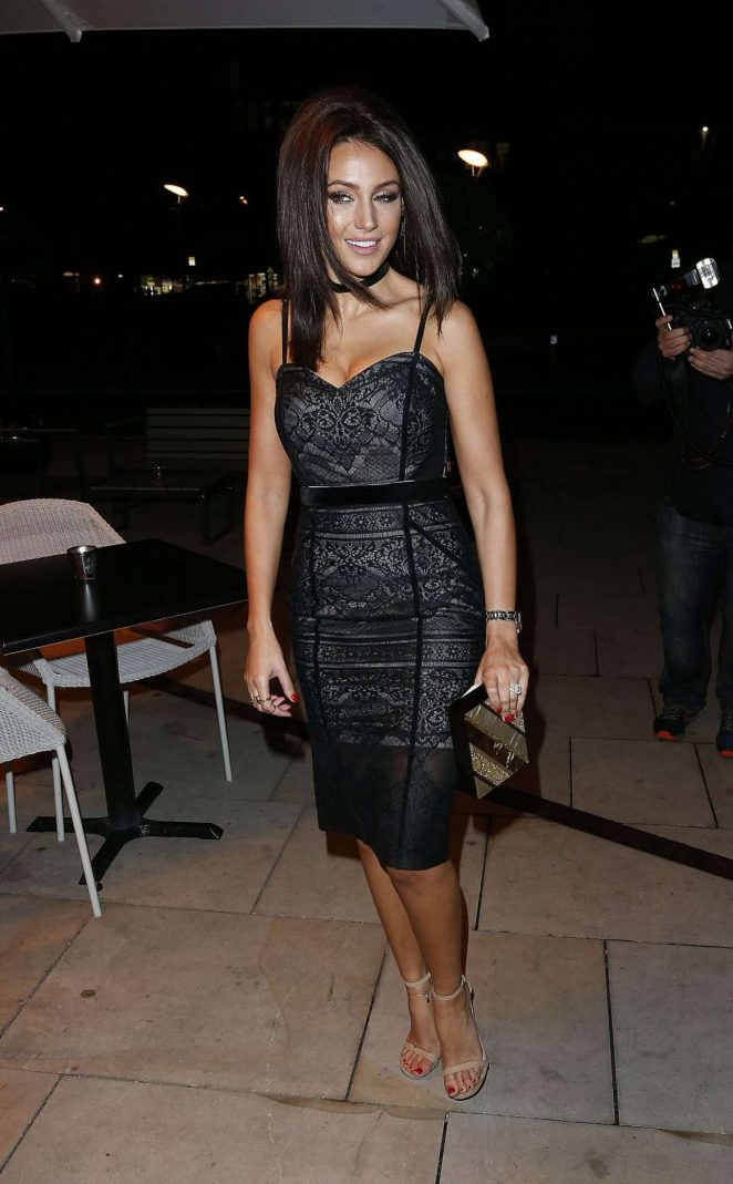 Michelle Keegan at Menagerie Restaurant in Manchester