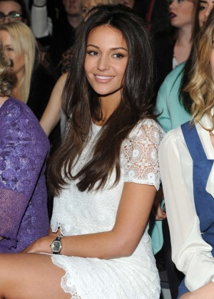 Michelle Keegan - Bora Aksu Fashion Show 2015 in London