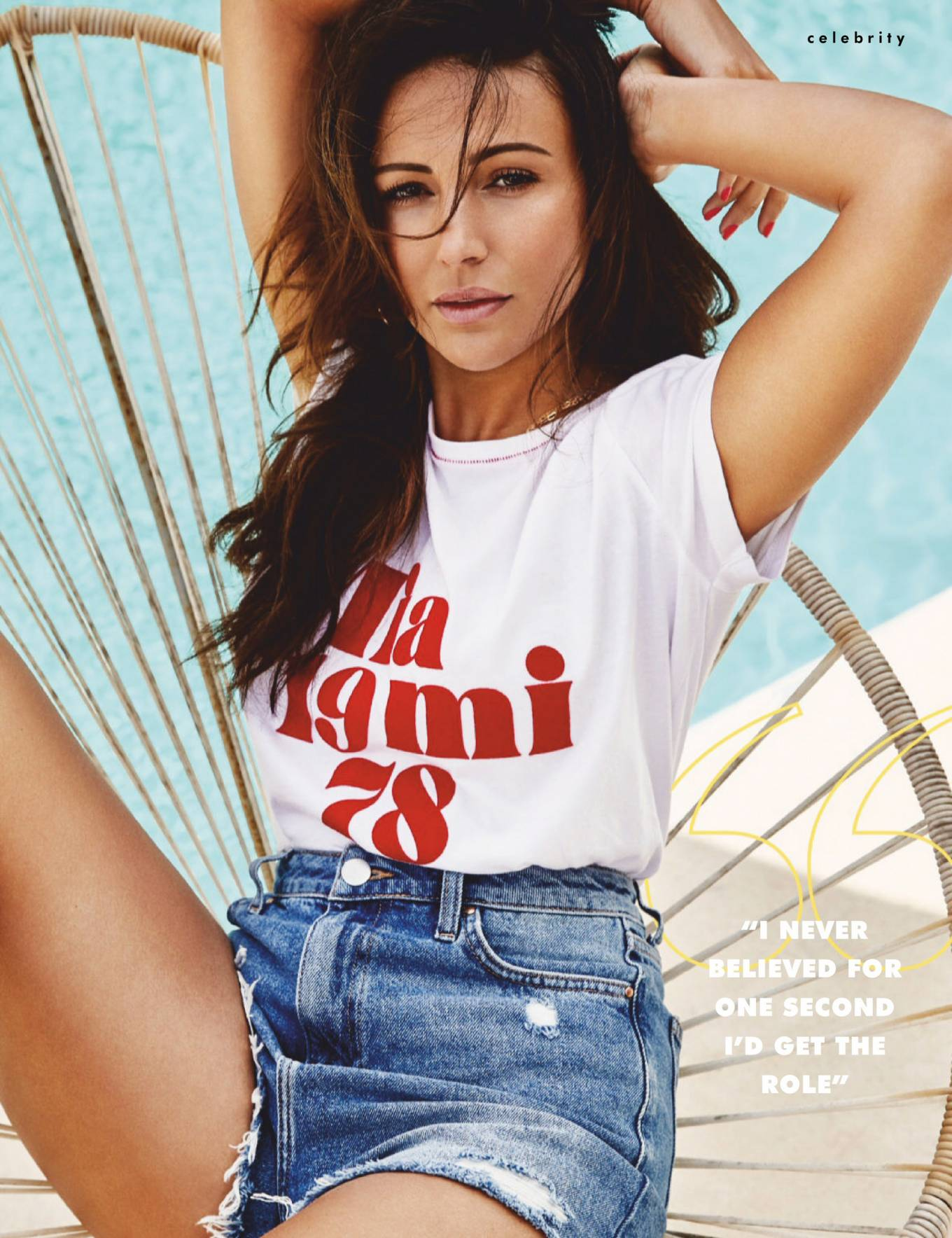 Michelle Keegan - Cosmopolitan Uk Magazine (August 2020) adds