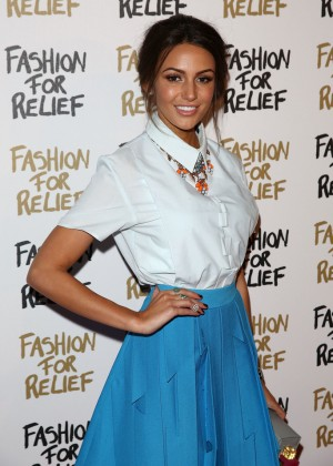 Michelle Keegan - Fashion For Relief Charity Fashion Show 2015 in London